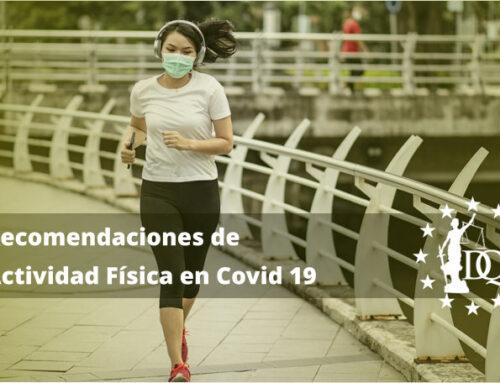 Recomendaciones de Actividad Física en Covid 19 | Be Coach