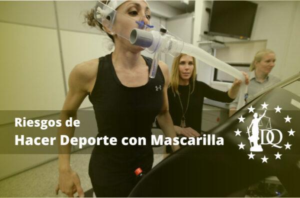 Riesgos de Hacer Deporte con Mascarilla