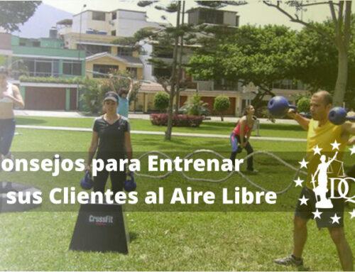 Consejos para Entrenar a sus Clientes al Aire Libre | Estudiar Coaching Deportivo